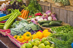 Vegetables in a market Royalty Free Stock Photography