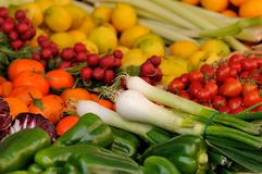 Vegetables market Royalty Free Stock Photography