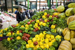 Vegetables on market Royalty Free Stock Photos