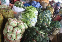 Vegetables market Royalty Free Stock Images