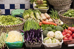 Vegetables on a  market Royalty Free Stock Image