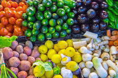 Vegetables at a market Royalty Free Stock Photo