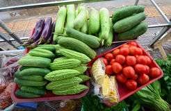 Vegetables at the market in Can Tho, Vietnam Royalty Free Stock Image