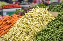 Vegetables on the market Stock Image