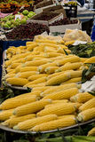 Vegetables market. corn Royalty Free Stock Images