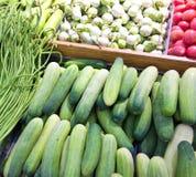 Vegetables at market Royalty Free Stock Photos