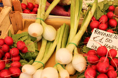 Vegetables market. Fresh vegetables on a market in italy Stock Photo