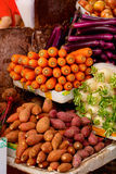Vegetables at market Royalty Free Stock Image