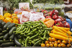 Vegetables on the market Royalty Free Stock Images