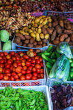 Vegetables on a market Stock Image