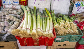 Vegetables at the market market Royalty Free Stock Image