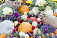Vegetables at market. Organic vegetables at outdoor market Stock Images