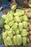 Vegetables market pepper Stock Images