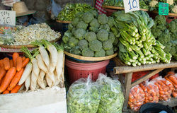 Vegetables on the market Stock Photos