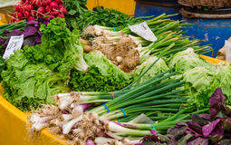 Vegetables marketplace Stock Image