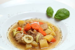 Vegetables and meat Stock Images