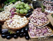 Vegetables for mediterranean cooking Royalty Free Stock Photo