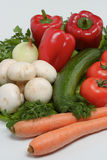Vegetables mix Stock Images