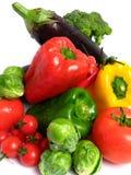 Vegetables Mix Wet Stock Photos
