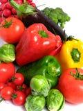 Vegetables mix wet Royalty Free Stock Photo