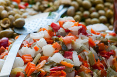 Vegetables mixture royalty free stock photos