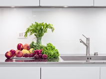 Vegetables in the modern kitchen Stock Photography