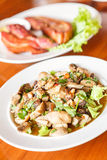 Vegetables with mushrooms. Thai Food Royalty Free Stock Photography
