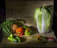 Vegetables. Natural foods in a rural setting Stock Photography