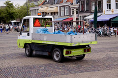 Vegetables Parade is a yearly event in the city of Delft Stock Images