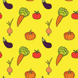 Vegetables pattern Stock Photography