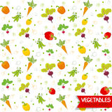 Vegetables pattern Stock Image