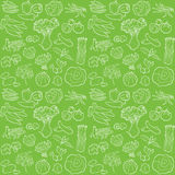 Vegetables pattern Royalty Free Stock Images