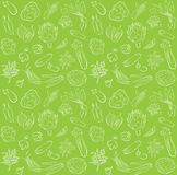 Vegetables pattern Royalty Free Stock Image