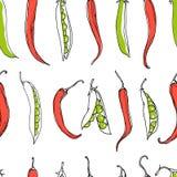 Vegetables pattern Stock Photos