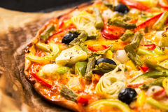 Free Vegetables Pizza Royalty Free Stock Images - 56747279