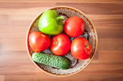 Vegetables plate Royalty Free Stock Photo