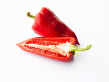 Vegetables: Pointed Bell Pepper Royalty Free Stock Images