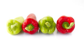 Vegetables: Pointed Bell Pepper Stock Photography
