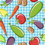 Vegetables. Preparation of vegetable dishes in the vector Stock Photography