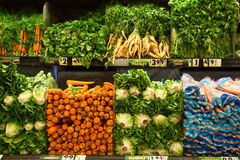 Vegetables in produce market Royalty Free Stock Image