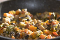 Vegetables ragout Royalty Free Stock Photography
