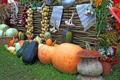 Vegetables on rural market Stock Photo
