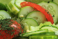 Vegetables salad Royalty Free Stock Photography