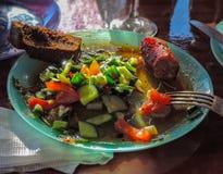Vegetables salad stock photo