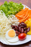 Vegetables salad for good health Stock Photo