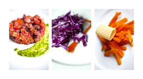 Vegetables and salads Royalty Free Stock Photos
