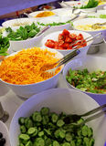 Vegetables and salads Royalty Free Stock Photography