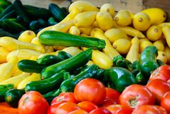 Vegetables. For Sale at the Farmers Market Stock Photography
