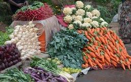 Vegetables sale stock photos