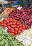 Vegetables for sale in a market Royalty Free Stock Image